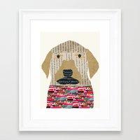 labrador Framed Art Prints featuring the labrador by bri.buckley