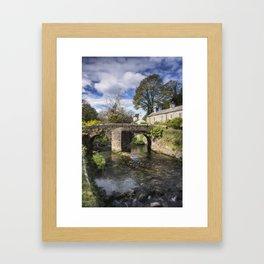 English Village Framed Art Print