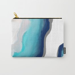 Aqua Agate Carry-All Pouch