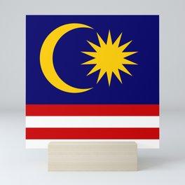 Malaysia Flag Mini Art Print