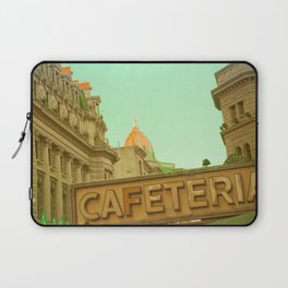 Cafeteria (vintage urban photography) Laptop Sleeve