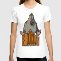 brooklyn T-shirts featuring BROOKLYN  by Robleedesigns