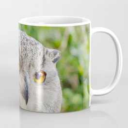 Eagle Owl with glowing eyes Coffee Mug