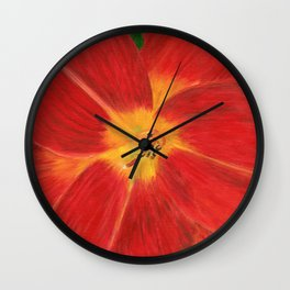 Day Lily by Teresa Thompson Wall Clock
