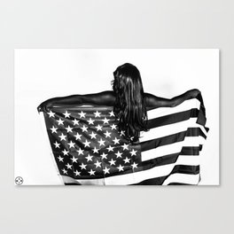 Black America Canvas Print