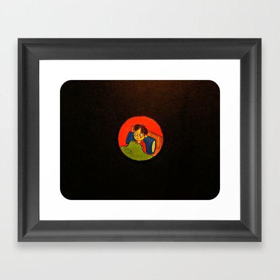 """The Idea of Nothingness"" Framed Art Print"