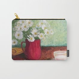 Chamomile and white cup Carry-All Pouch