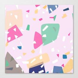 Paper pieces Canvas Print