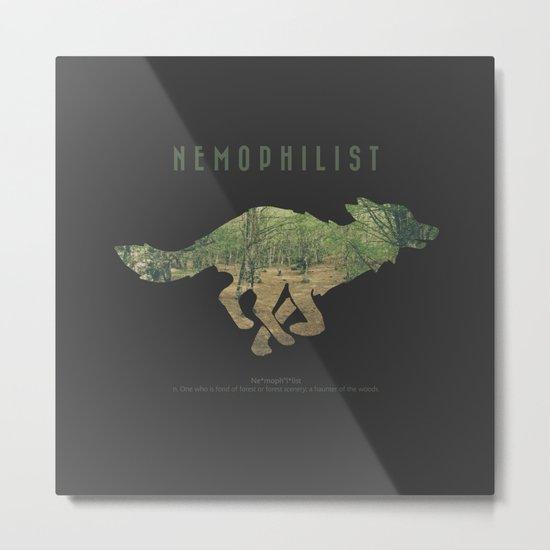 Nemophilist VII Metal Print