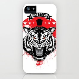 DONT TREAD ON WE! iPhone Case