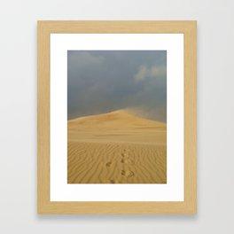 Sand Dune Framed Art Print