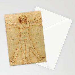 VITRUVIAN MAN - LEONARDO DA VINCI Stationery Cards