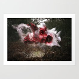 Deliver the Explosion Art Print