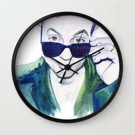 Piano Man Wall Clock