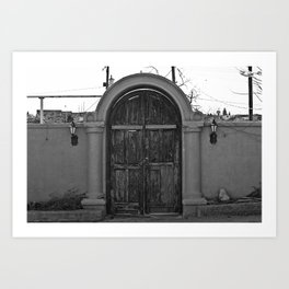 Door to Mexico Art Print