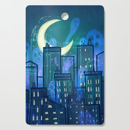 This City is Full of Ghosts (I) Cutting Board