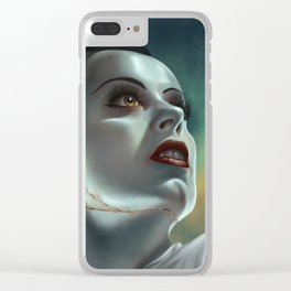 The Bride Clear iPhone Case