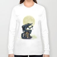 werewolf Long Sleeve T-shirts featuring Werewolf! by drubskin