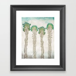 Amazon Trees Framed Art Print
