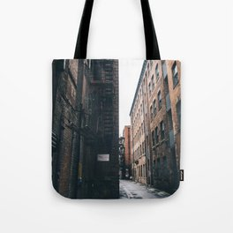 Urban grit, Manchester. Tote Bag