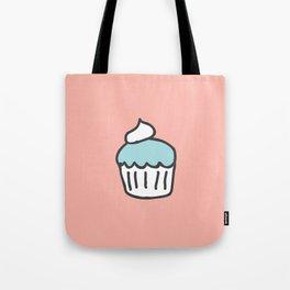 Cotton Candy Cupcake Tote Bag