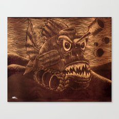 Fish Tank. Canvas Print