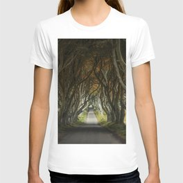Dark Hedges alley in northern Ireland T-shirt