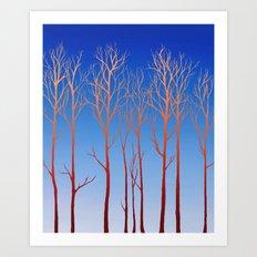 Cottonwood Art Print