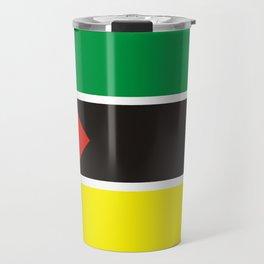 Mozambique country flag Travel Mug