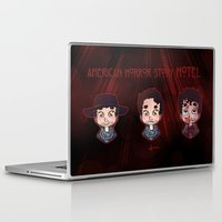 ahs Laptop & iPad Skins featuring AHS Hotel: Justin by Sunshunes