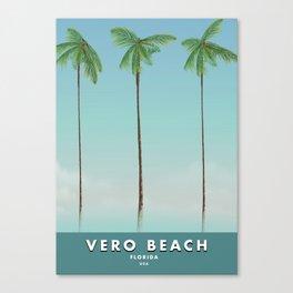Vero Beach Floria usa Canvas Print