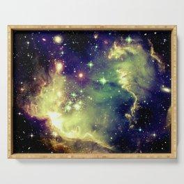 Nebula Galaxy (deep pastels) Serving Tray