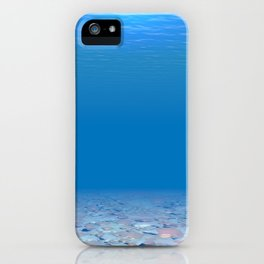 Bottom of The Sea iPhone Case