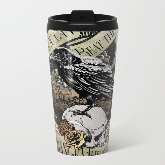 Crooked Kingdom - Change The Game Metal Travel Mug
