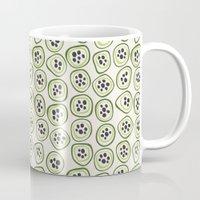 kiwi Mugs featuring Kiwi by Valendji