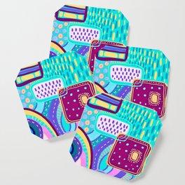 Pop Abstract Coaster