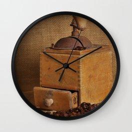 Kaffeemühle Wall Clock