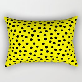 Queen of Polka Dots Rectangular Pillow