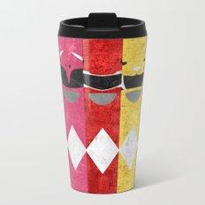 Mighty Morphin Power Rangers Metal Travel Mug