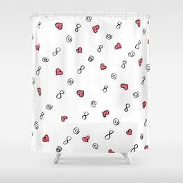 Crazy Love Forever Shower Curtain