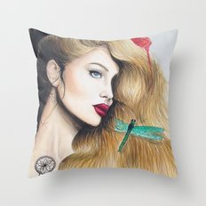 Time (close up) Throw Pillow