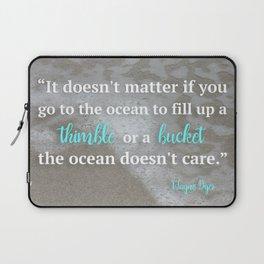 Thimble or Bucket Laptop Sleeve
