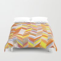 blanket Duvet Covers featuring Blanket by Tonya Doughty