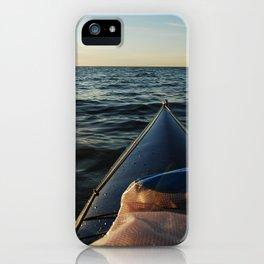 Kayaking Port Angeles iPhone Case