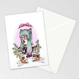 Oh my GOTH! Stationery Cards