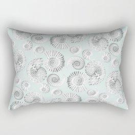 Aquatic Pattern Rectangular Pillow