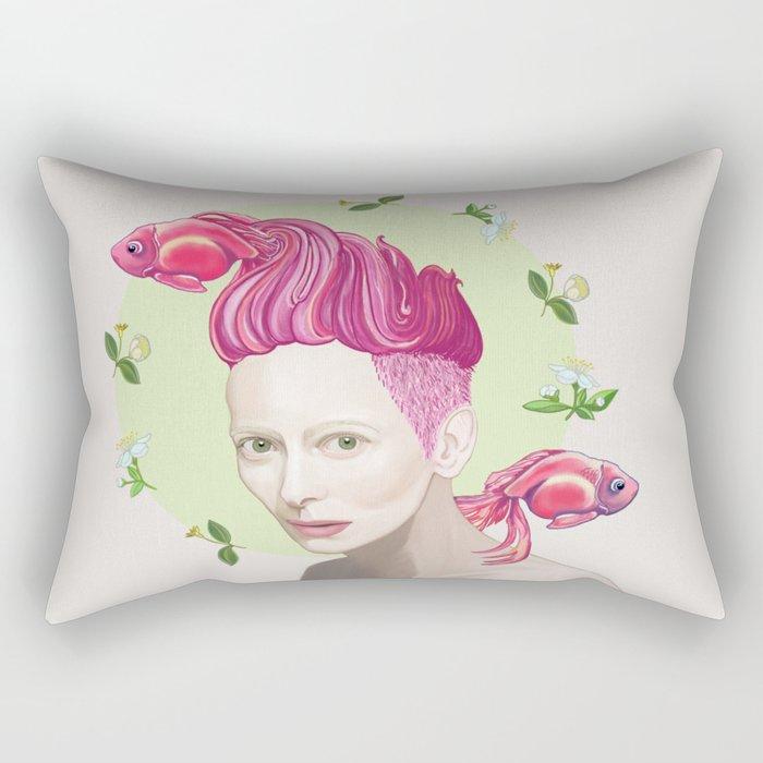 Tilda Swinton Rectangular Pillow