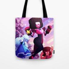 Garnet - Steven Universe Fanart, Sapphire, Ruby, Fusion Tote Bag