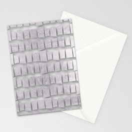 Silver memorial blocks August 2018 Stationery Cards