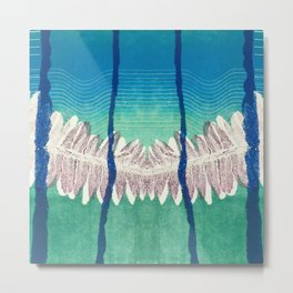 Where the jungle meets the ocean Metal Print